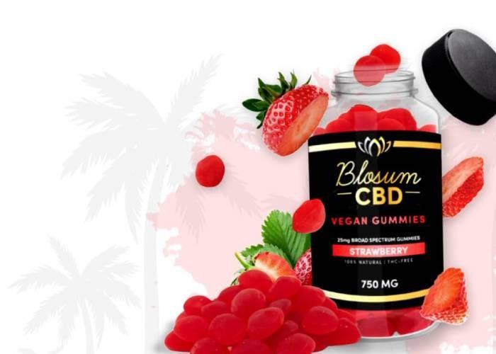 BlosumCBD Vegan Gummies