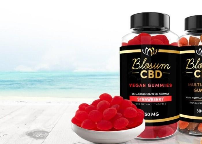 BlosumCBD Multivitamins Vegan Gummies