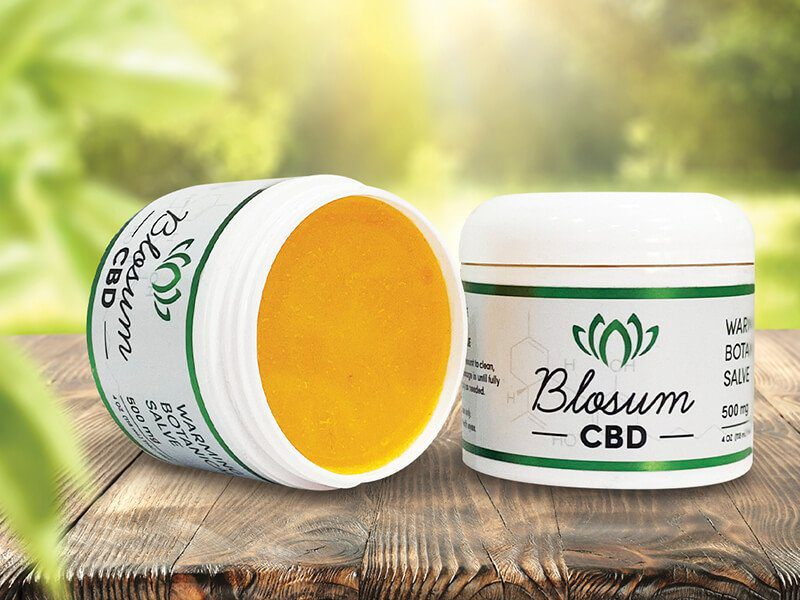 CBD Salve Warming Botanical