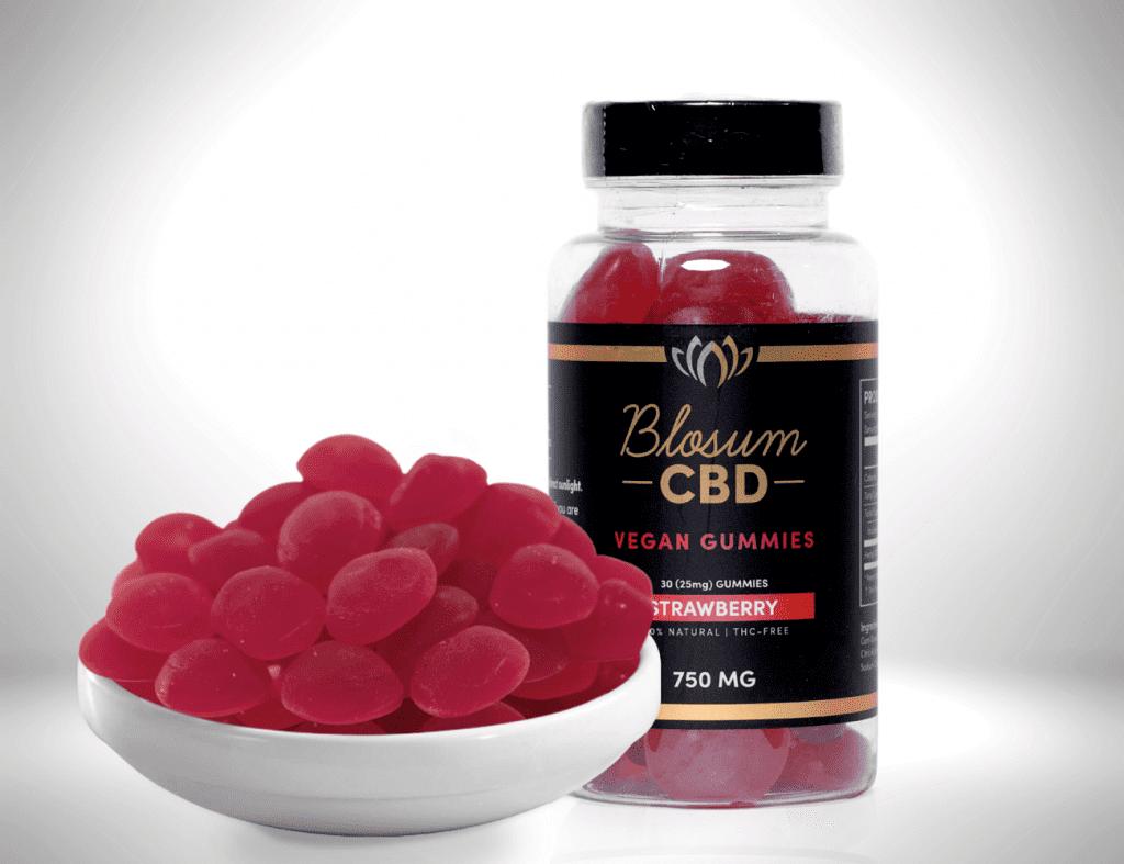 Blosum CBD Vegan Gummies 25mg new 1