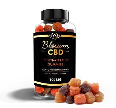 CBD gummies, Blosum CBD gummies