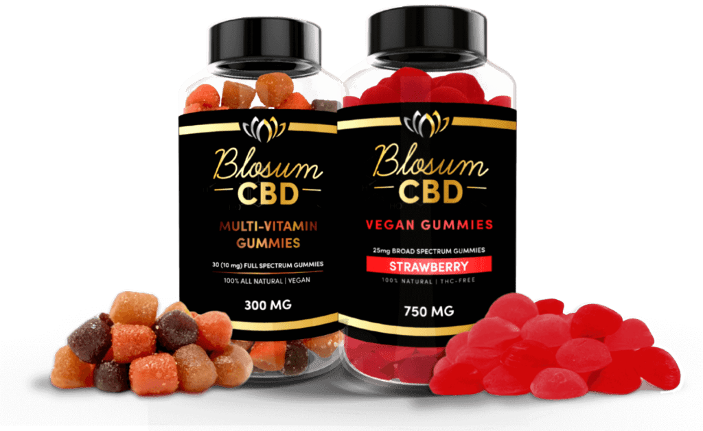 Blosum Gummies Made In california