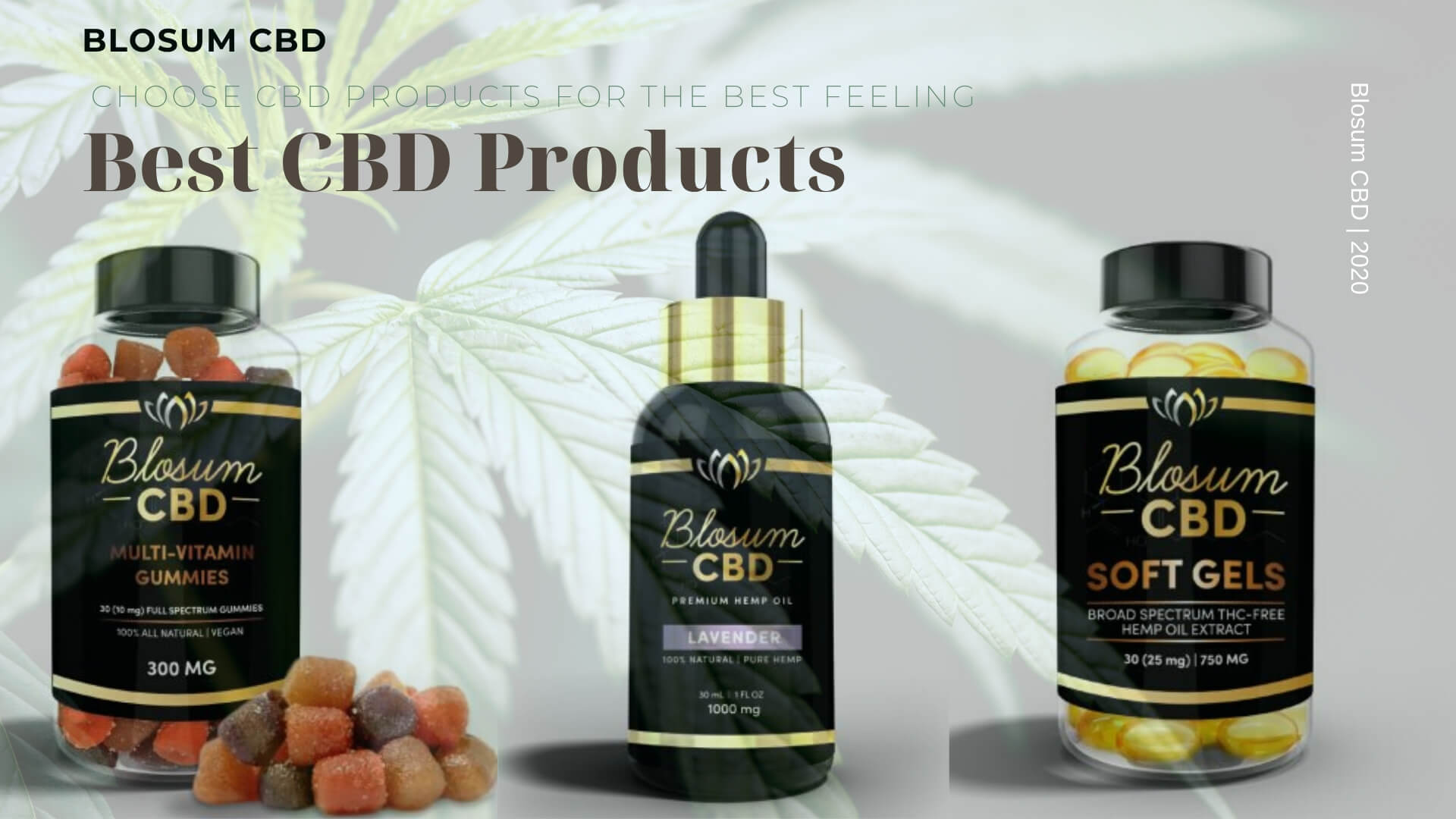 BEST CBD PRODUCTS FOR THE BEST FEELING