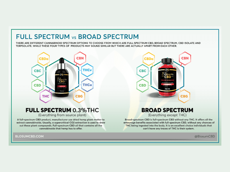 Full Spectrum vs. Broad Spectrum CBD