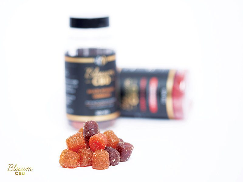 CBD multivitamin gummies