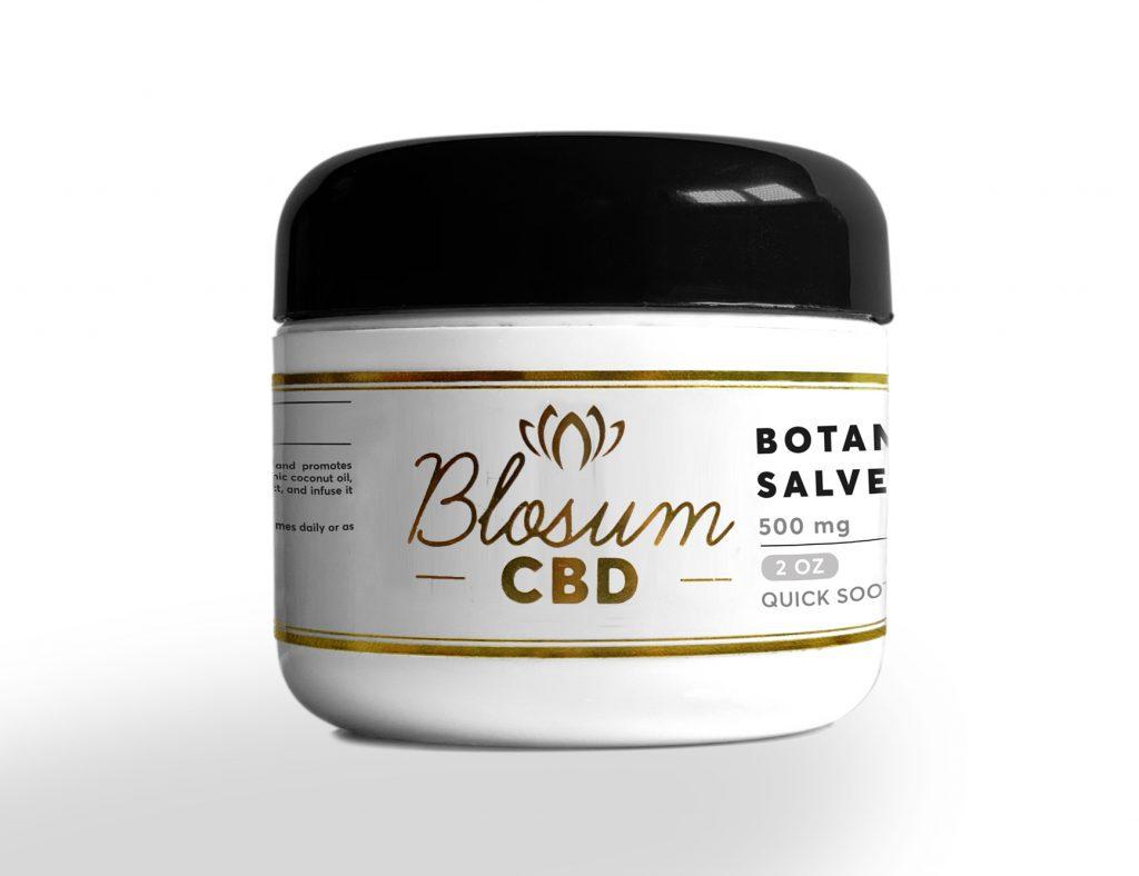 BlosmCBD herbal salve botanical 2oz