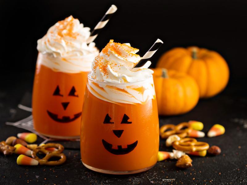 CBD Halloween Smoothie