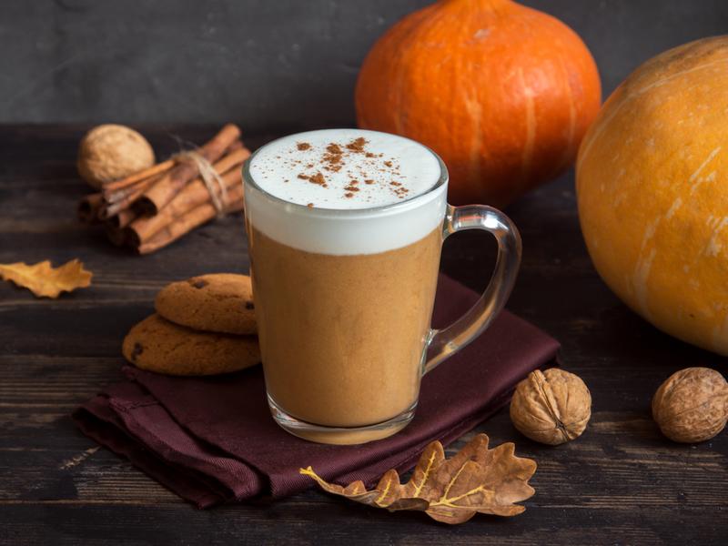 CBD Pumpkin Spice Latte
