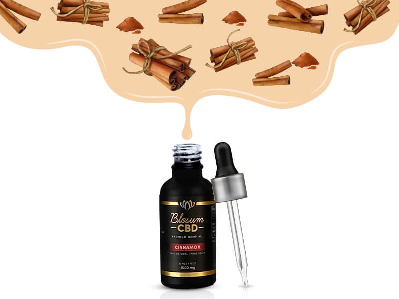 Blossom CBD Oil tincture Cinnamon